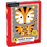 Mudpuppy Geometric Animals Puzzle Sticks (24 Piece)