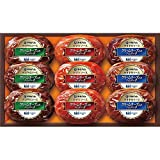 お歳暮と冬の味覚のお届けに 伊藤ハム キリクリームチーズ使用ハンバーグギフト(計9個)KHS-300