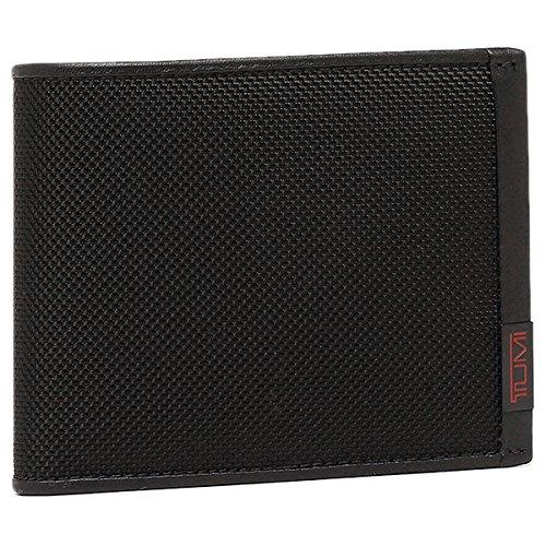 (トゥミ) TUMI トゥミ 財布 TUMI 19237 D アルファ GLOBAL WALLET W/ COIN POCKET メンズ 二つ折り財布 BLACK [並行輸入品]