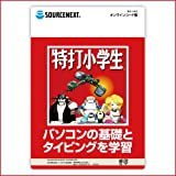 特打小学生 オンラインコード版 | タイピング練習 ローマ字 英語 漢字 学習ソフト