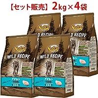 【セット販売】ニュートロ ワイルド レシピ キャット アダルト 白身魚 成猫用 2kg×4コ