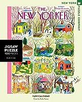 ニューヨークパズル会社–New Yorkerファームカレンダー–1000ピースジグソーパズルbyニューヨークパズル会社