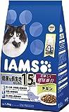 アイムス (IAMS) キャットフード 15歳以上用 健康な長生きのために チキン シニア猫用 1.5kg