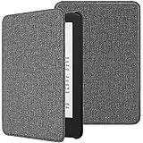 TiMOVO Amazon Kindle 第十世代 Newモデル ケース キンドル2019年発売専用カバー 高級PUレーザー オートスリープ機能 全面保護 耐衝撃 軽量 薄型 Jeans Gray(Kindle Paperwhite に対応できません )