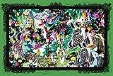 1000ピース ジグソーパズル めざせ!パズルの達人 世界の中心 (50x75cm)