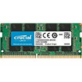 Crucial 16GB DDR4 2666 MT/s (PC4-21300) SODIMM 260-Pin Memory - CT16G4SFRA266
