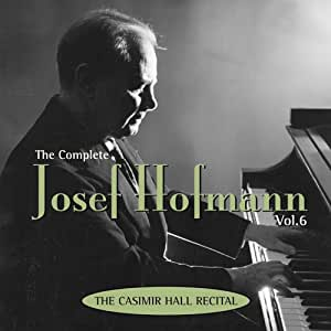 Complete Josef Hofmann 6