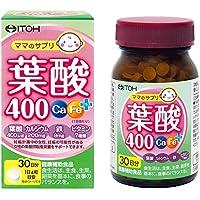 井藤漢方製薬 葉酸400 カルシウム 鉄 プラス(Ca Fe+) 約30日分 250mgX120粒