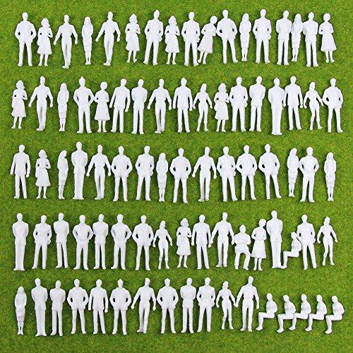 人形 人物 人々 人間 人間フィギュア 未塗装 情景コレクション ザ ・ 鉄道模型・ジオラマ・建築模...