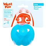 West Paw Zogoflex Jive Durable Nearly Indestructible Dog Ball Chew-Fetch-Play Dog Toy, 100% Guaranteed Tough, It Floats!, Mad