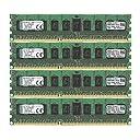 キングストン Kingston メモリー DDR3 1600MHz 8GBx4枚 ECC CL11 1R X4 1.5V Registered DIMM 240-pin PC3-12800 KTH-PL316SK4/32G 永久保証
