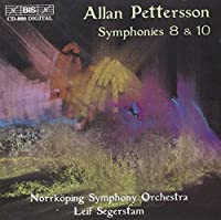 Allan Pettersson: Symphonies No. 8 and 10 (2000-08-07)