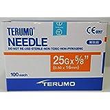 "Terumo 25G x 5/8"" (0.50x16mm) 100each/Pack"