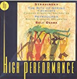 Stravinsky: Rite Of Spring, Fireworks, Petrouchka / Ozawa, Tilson Thomas, Chicago Symphony