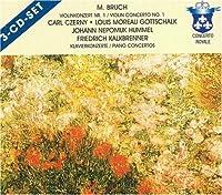 Bruch: Violin Concerto No. 1; Hummel: Piano Concertos [Germany]