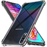 Ferilinso Case for Samsung Galaxy A70,Ultra [Slim Thin] Scratch Resistant TPU Rubber Soft Skin Silicone Protective Case Cover