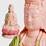 ART PARK Guan yin Statue,Bodhisattva Figure,Kuan yin Statue,Quan Yin Statue,Home Decor,Buddhism Goods,Buddhist Supply,Buddhis