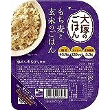 大塚食品大塚のごはんもち麦と玄米のごはん 150g ×12箱