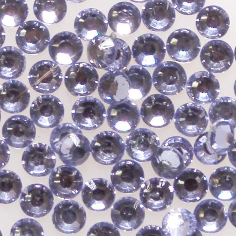 風邪をひく惨めな病な高品質 アクリルストーン ラインストーン ラウンドフラット 約1000粒入り 3mm ライトアメジスト