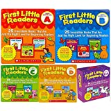 First Little Readers Parent Packs Complete Set (5 packs) - Guided Reading Level A, B, C, D, E&F