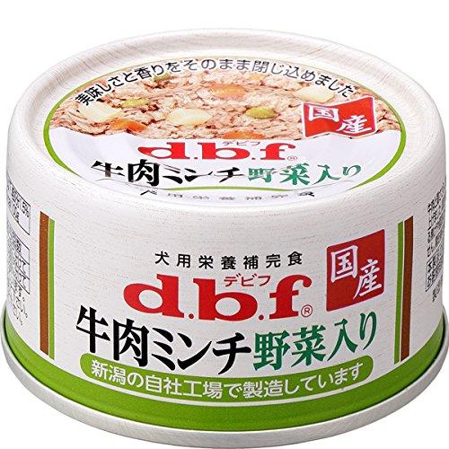 デビフ dbf 牛肉ミンチ野菜入り 65g×24缶