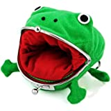 Cute Frog Coin Wallet Change Pouch Wallet Funny Props Plush Toy