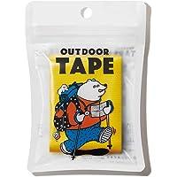 ヤマト 万能 布テープ アウトドアテープ 50mm×3m イエロー OD-YEL