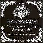 HANNABACH クラシックギター弦 シルバースペシャル E815MT Black Set