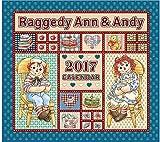 2017年 カレンダー ラガディ アン アンディ ラガディカレンダー Raggedy Ann&Andy カントリーカレンダー