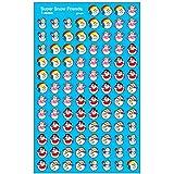 トレンド ごほうびシール 雪だるま 800片 Trend superShapes Stickers Super Snow Friends T-46065