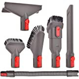 Aiweijia Accessory Tool Kit Attachment Set with Extension Hose for Dyson V7 V8 V10 SV10 SV11 Cordless Vacuum Cleaner Tool Kit