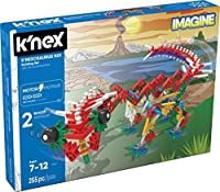 K'NEX Beasts Alive ? K'NEXosaurus Rex Building Set ? 255 Pieces ? Ages 7+ Engineering Educational Toy [並行輸入品]