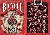 Koi Fish Bicycle Playing Cards PokerサイズデッキUSPCCカスタムLimited Edition