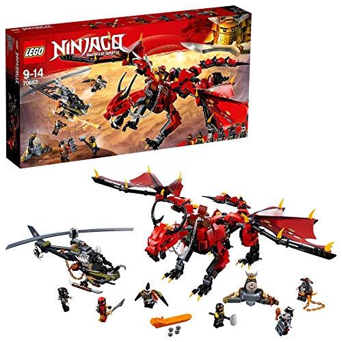 レゴ(LEGO)ニンジャゴー 伝説のエレメント・ドラゴン:メリュジー 70653