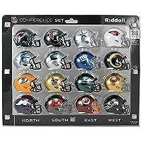Riddell(リデル) NFL NFC ミニ レプリカ ヘルメット カンファレンスセット (SPEED) - [並行輸入品]