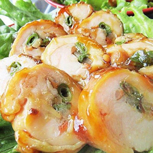 野菜たっぷり・チキンロール(3種の野菜巻き) 《*冷凍便》