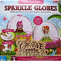 Creative Roots Make Your Own Sparkle Globes [並行輸入品]