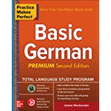 Practice Makes Perfect: Basic German, Premium Second Edition