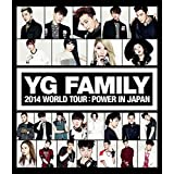 YG FAMILY WORLD TOUR 2014 -POWER- in Japan (Blu-ray Disc2枚組)