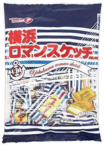 宝製菓  横浜ロマンスケッチ 200g(個包装込み)×15袋