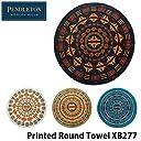 (ペンドルトン)PENDLETON Printed Round Towel Chief Joseph Khaki