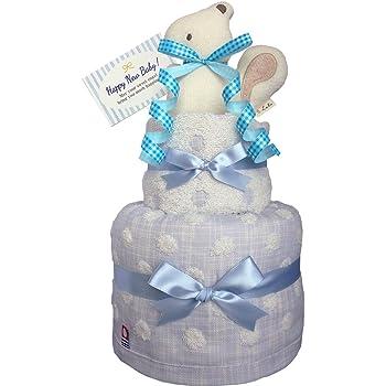 134fb5c30d6c9 おむつケーキのKanonBaby s オーガニック 出産祝い 人気 男の子 マスコットガラガラ 今治タオル ガーゼ 赤ちゃん 内祝い