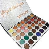 SUNXU 35 Colors Matte Highlighter Eyeshadow Palette Eye Shadow Pallete Makeup