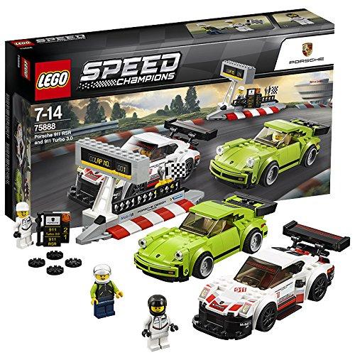 レゴ(LEGO) スピードチャンピオン ポルシェ 911 RSR と 911...