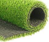 リアル人工芝 ふわふわな手触り 難燃 高密度 使用期限5~8年 幅0.1m * 奥行0.1m * (芝丈)高さ3cm(カットサンプル)ゴルフと庭園専用