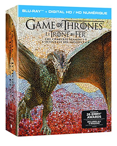 Game of Thrones: Season 1 - Season 6 [Blu-ray] [Import] Director) Various (Actor Hbo Home Video