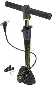 TOPEAK(トピーク) JoeBlow Mountain MTB向けフロアーポンプ 英/仏バルブ対応 英式トンボ口金/ニードル付属
