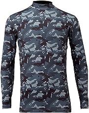 フリーノット(FREE KNOT) 冷感 ヒョウオン レイヤードアンダーシャツ LL グレーカモ. Y1625-LL-91