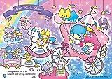 108ピース ジグソーパズル キキ&ララのおもちゃばこ(18.2x25.7cm)