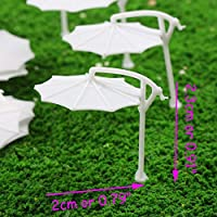 モデル パラソル 太陽傘 傘 模型 1:200 Z比率 24本入り 庭園 ビーチ 箱庭 装飾 鉄道模型 建物模型 ジオラマ 教育 DIY
